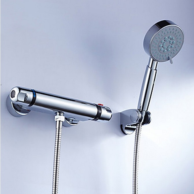 Brass Thermostatic Shower Faucet With Handshower TT0213S