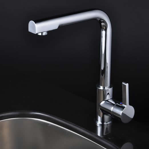 Chrome Single Handle Centerset kitchen Faucet T1720