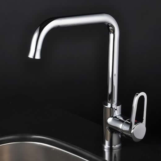 Chrome Single Handle Centerset kitchen Faucet T1721