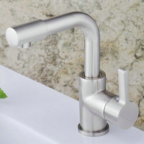 Centerset Contemporary Nickel Brushed Kitchen Faucet bathroom sink Faucet T1782S