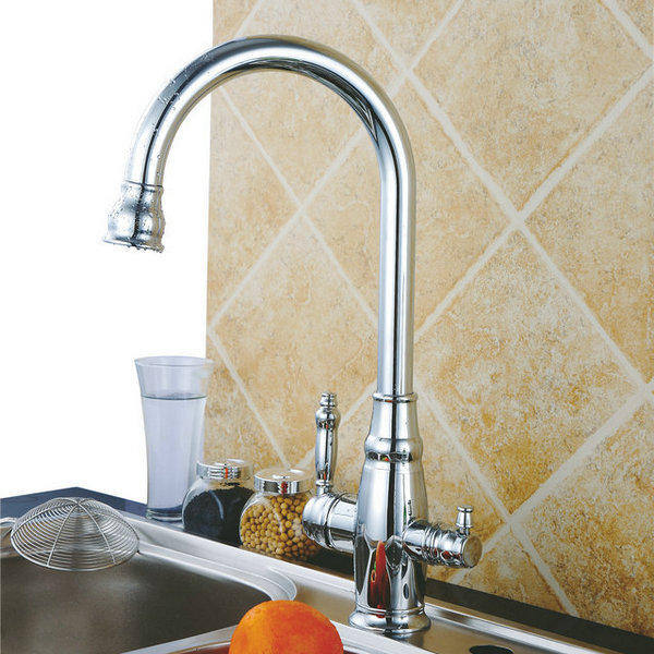 Three Flow Kitchen Faucet with pure water RO Faucet T3001