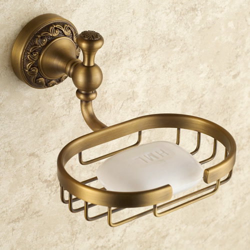 Bathroom Brass Antique Brass Finish Soap Dish TAB6107