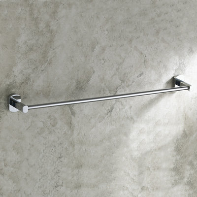 Brass Chrome Finish One Bar Towel Bar TCB7301