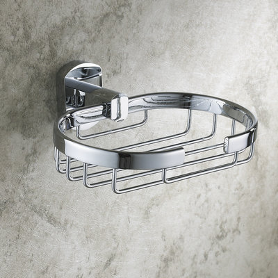 Solid Brass Bathroom Accessories Soap Basket TCB7309