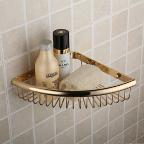 Ti-PVD Wall-mounted Soap Basket TGB1009