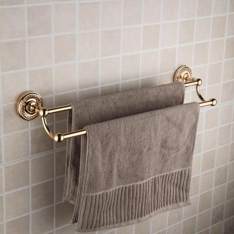 Ti-PVD Solid Brass 25 Inch Double Towel Bars TGB2003