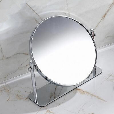 6 Inch Chrome Two Sides Desktop Make Up Bathroom Mirrors MB059H