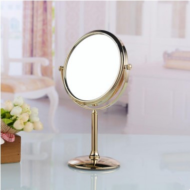 Antique Golden Printed Desktop Make Up Hotels&Home Bathroom Mirrors MB067