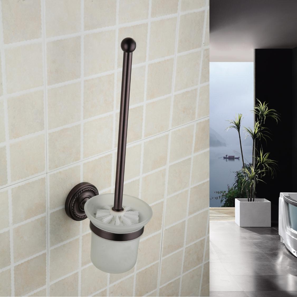 Oil Rubbed Bronze Wall-mounted Wall-mounted Toilet Brush Holder ORB1005
