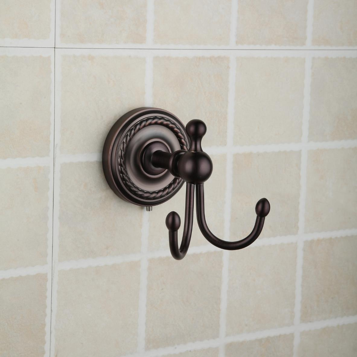 Oil Rubbed Bronze Wall-mounted Robe Hook ORB1008