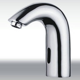 Contemporary Cold Water Automatic Touchless Sensor Sink Faucet - T0114