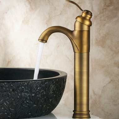 Classic Solid Brass Bathroom Sink Faucet T0426A