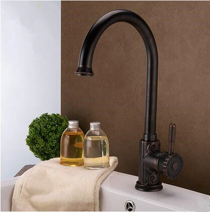 Antique New Designed Black Bronze Brass Classical Kitchen/Bathroom Sink Faucet TB0715A