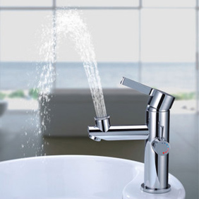 Chrome Finish Brass Bathroom Sink Faucet T0612 T0612 63 99