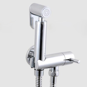 Contemporary Solid Brass Bidet Faucet Chrome Finish DS002