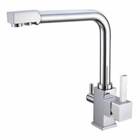 Hot And Cold Water And RO filter Brass Kitchen Sink Faucet T3303