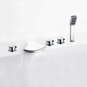 Waterfall Faucet with Hand Shower T-7028